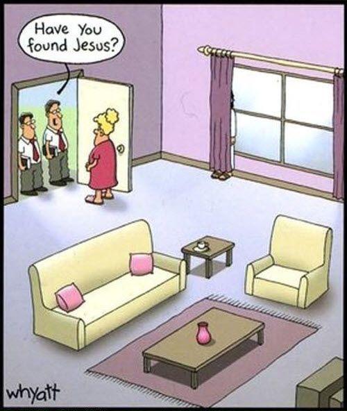 Avete trovato Gesù?