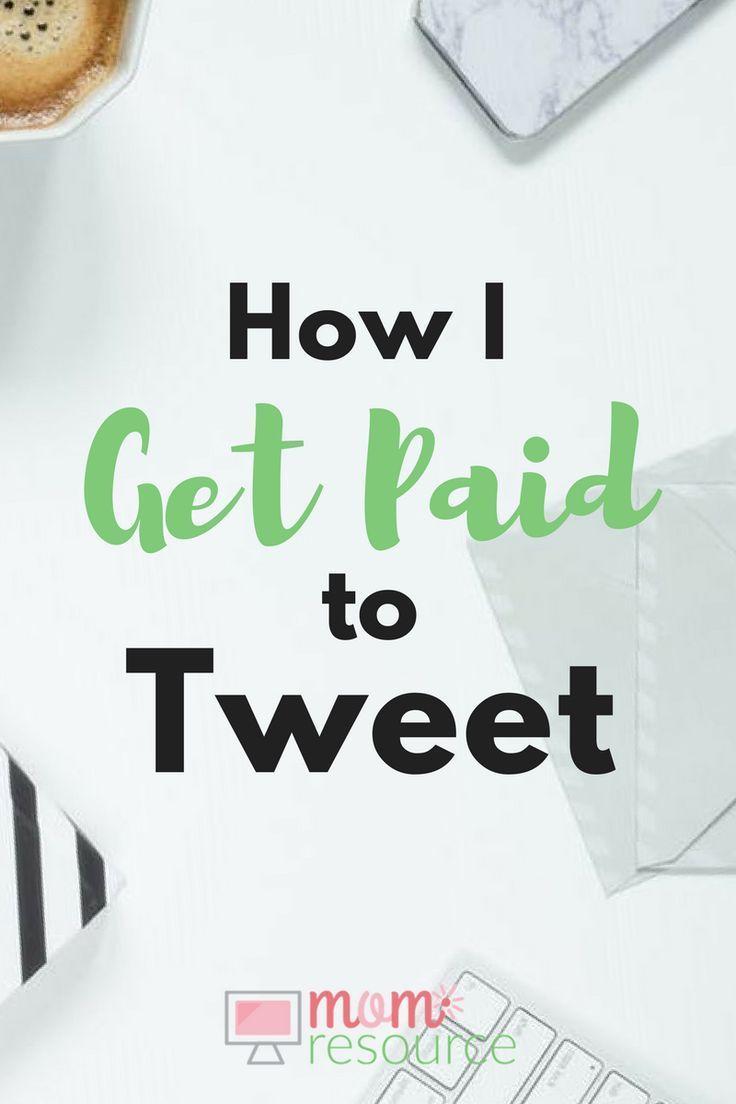 Make Money Online: I Get Paid To Tweet! If you want to make money online, you can use Twitter to make money from home. Who doesn't want to make money from home? Here are 5 ways I make money online using Twitter. You can use these Twitter tips to make money from home too. Don't miss out! http://www.momresource.com/get-paid-to-tweet/