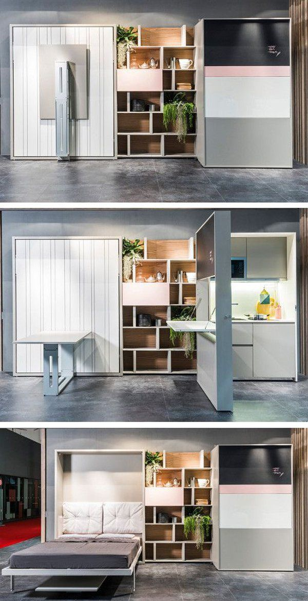 25 best ideas about smart furniture on pinterest compact kitchen small system kitchens and - Smart kitchen furniture ...