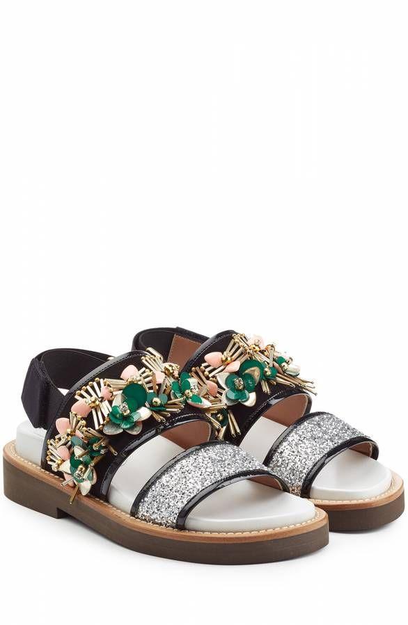 Chaussures printemps été sandales Marni