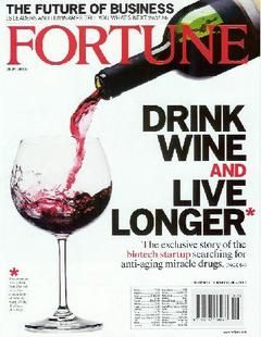"""Fortune reported on a US biotech firm called Sirtris Pharmaceutical that is trying to recreate the health-boosting effects found in the chemical resveratrol.  """"Its stated goal is to develop medicines that have the same health-boosting effects in people that resveratrol had on mice in lab. But that hardly captures the company's sweeping promise: If it succeeds, its medicines may retard the onset or progression of a whole slew of age-related diseases, from diabetes to Alzheimer's to Cancer. .."""