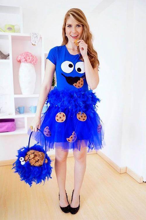 Halloween is not only about scary, spooky, creepy and ugly dresses/costumes, it is also about wearing funny, cheaper and happy dresses too. You can put on t