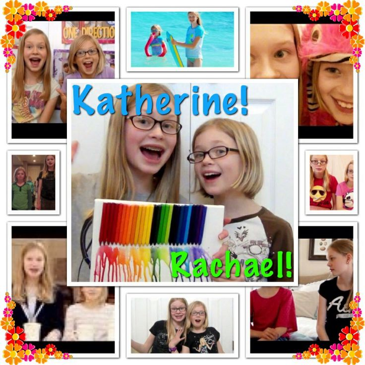 Katherine and Rachael are my favorite SSG girls! They're so funny, I always laugh so hard when I watch their videos!