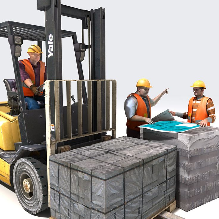 Pin by Top 3D Models on Forklifts 3 Forklift training