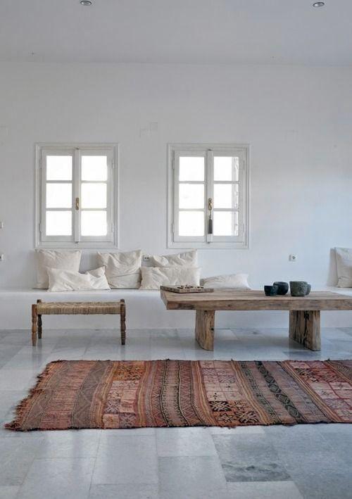 19 vardagsrum som visar att en kelim-matta är en mycket bra idé - Sköna hem