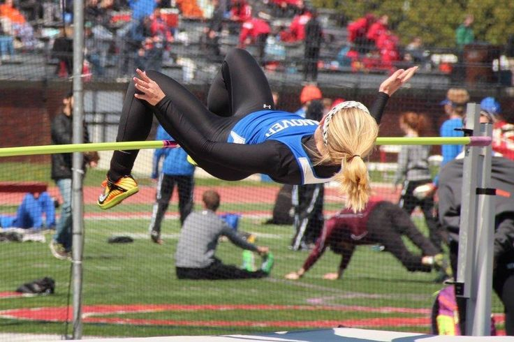 https://flic.kr/p/FNE4F3 | High Jump | Hanover College Track and Field Invatational.