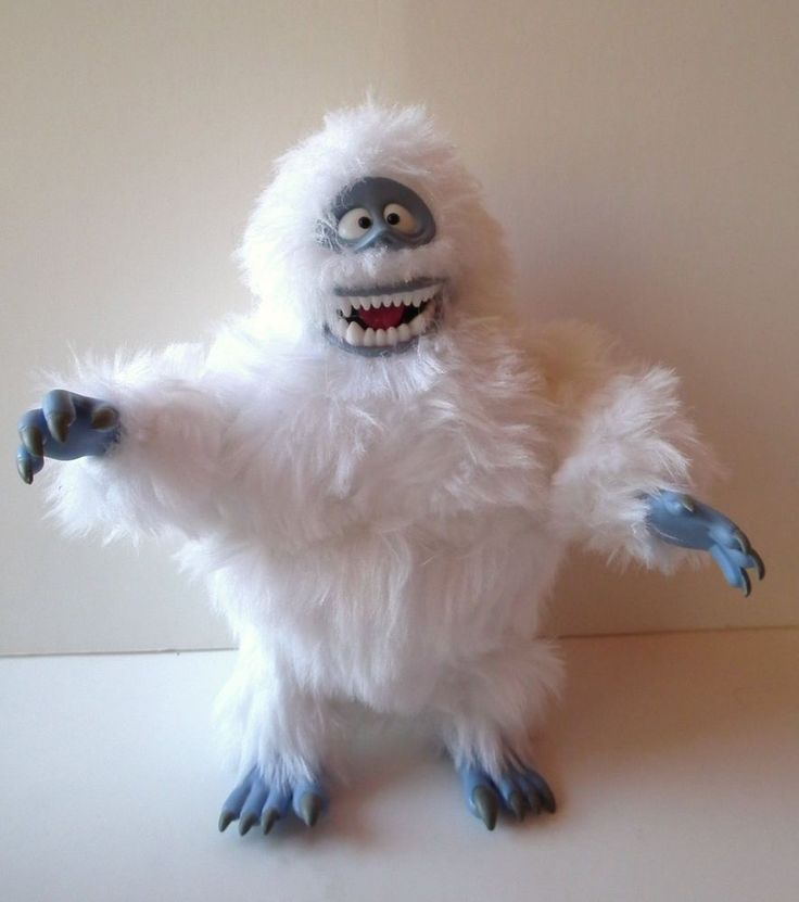 """Playing Mantis Rudolph Red Nose Reindeer Bumbles Abominable Snowman 8"""" Figure #TheRudolphCompany"""