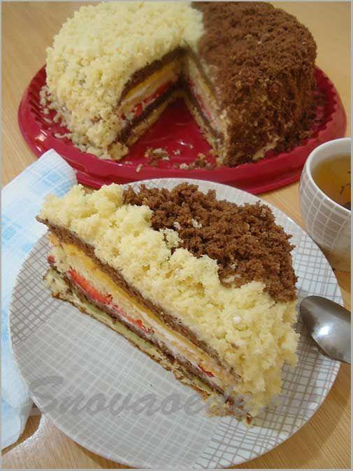 Торт махровый