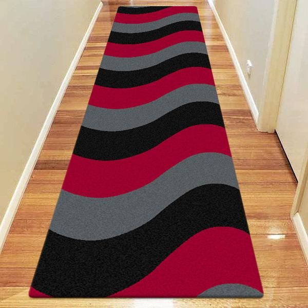 MAJESTIC CARVING HALLWAY WAVY RUNNERS RUGS