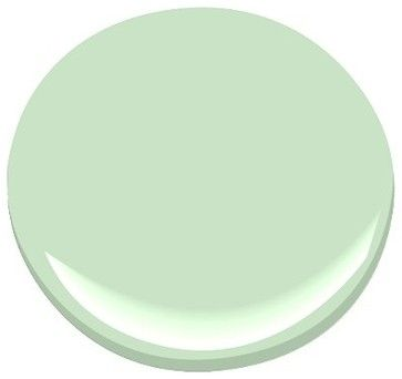 Pistachio 561 Paint - Benjamin Moore pistachio Paint Color Details  paints stains and glazes This could be IT!  Also check out Light Pistachio