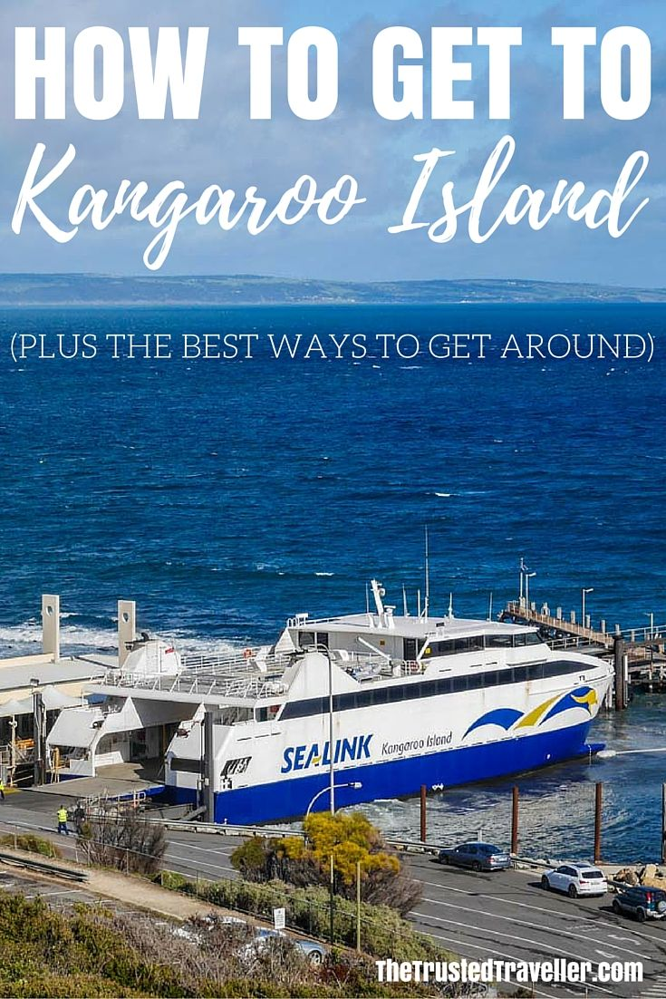 The SeaLink Ferry at Cape Jervis ready to depart for Kangaroo Island - How to Get to Kangaroo Island (plus the best ways to get around) - The Trusted Traveller