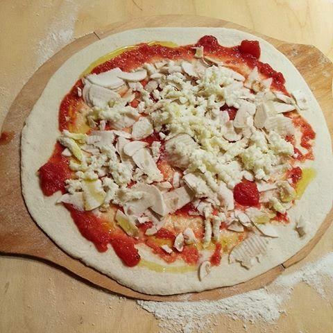 Impasto pizza - pizza, homemade, impasto...