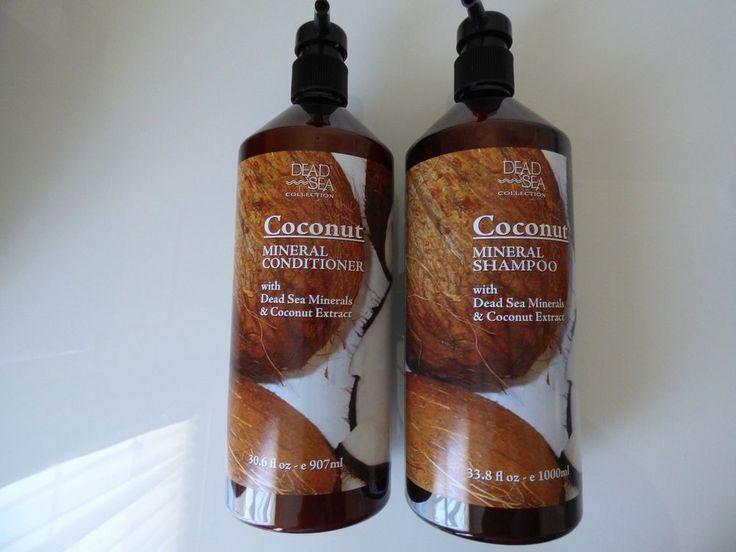 Dead Sea Coconut Mineral Shampoo Amp Conditioner RM