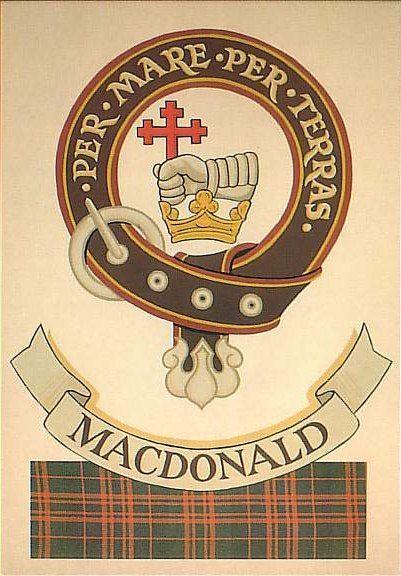 Clan MacDonald Crest