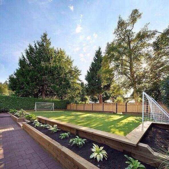 Backyard Soccer Field : backyard soccer field  HousesHome Interior  Pinterest