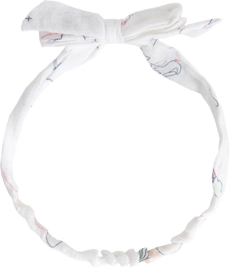 Angel Dear Happy Unicorn Muslin Headband