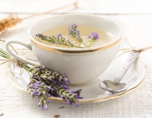 Lavendeltee Rezept