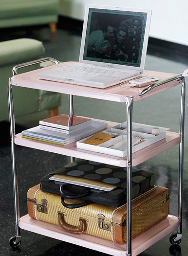 Great idea for small places...mobile office