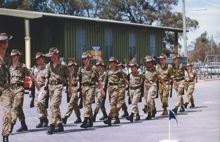 On parade with the 29 RCU Padstow in 1997. I thoroughly enjoyed my time in the Army Cadets, they equipped me many valuable skills and I had a great deal fun.