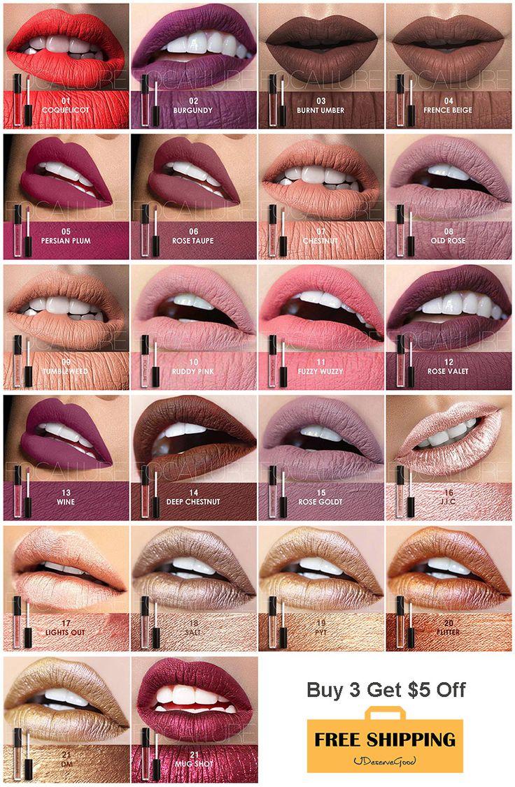 Top seller of Focallure Waterproof Matte Liquid Lipstick