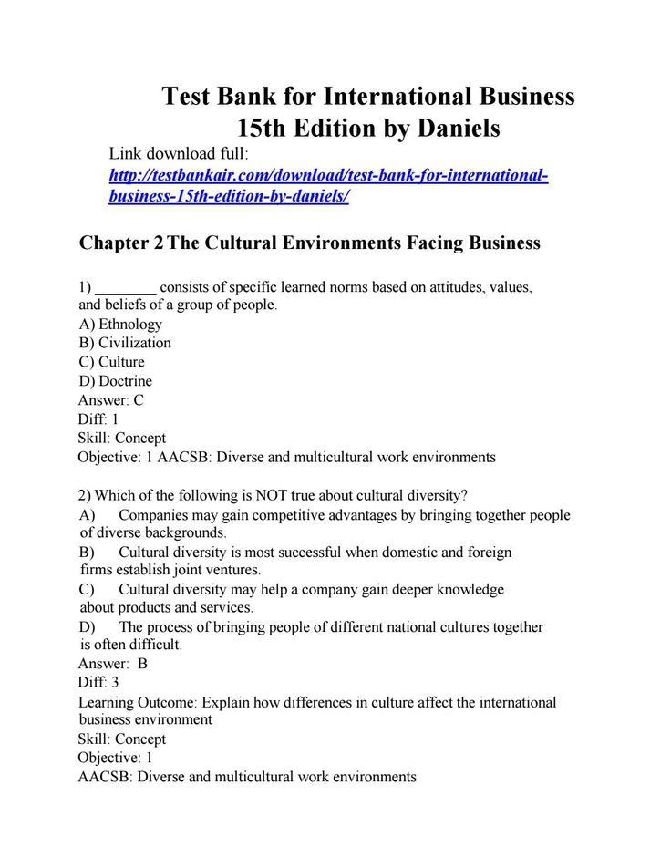15 best test bank air images on pinterest banks bestseller books download test bank for international business 15th edition by daniels fandeluxe Gallery