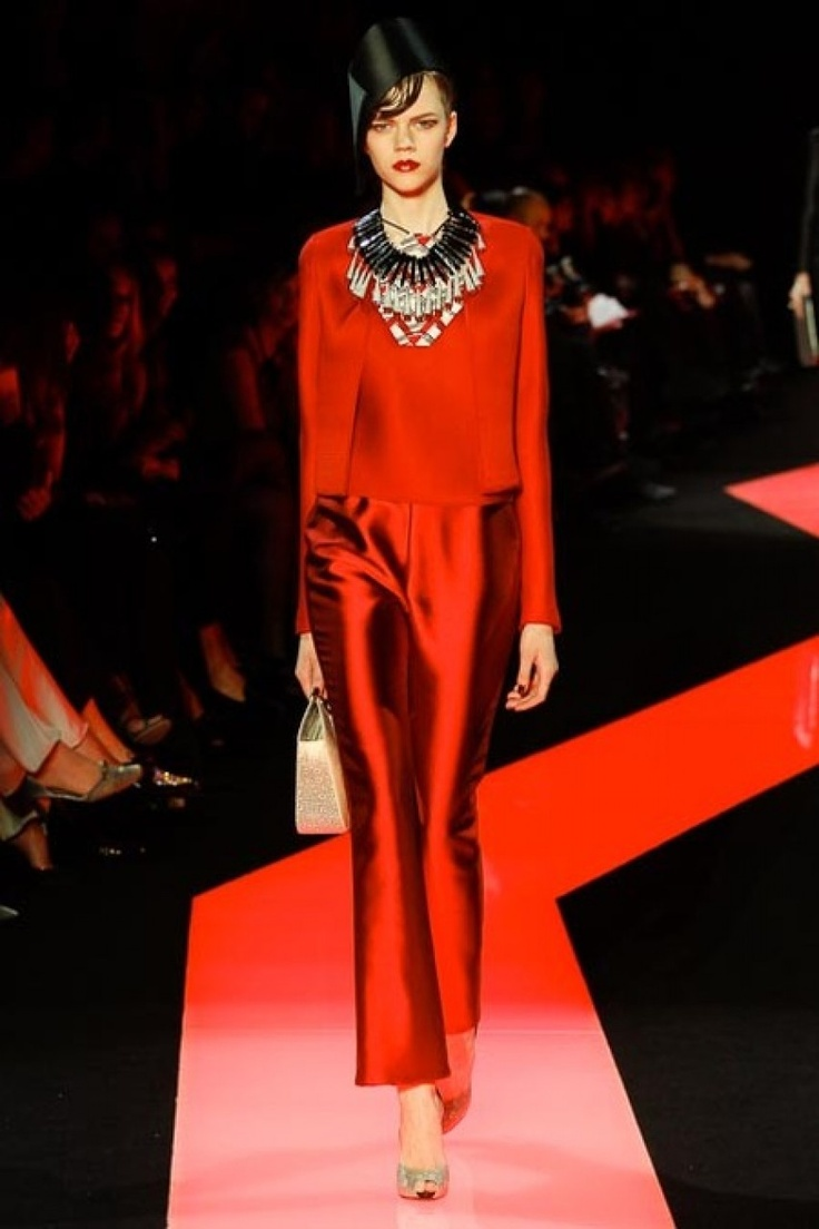 Haute couture Armani prive jan 1013