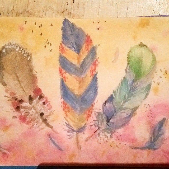 #watercolor #drawing #акварель #рисовашки #рисунок