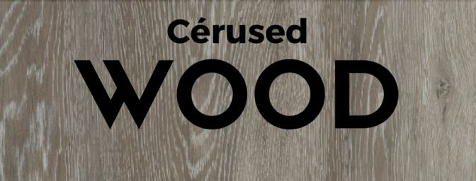 Cerused Wood has become one of the most desired #home #decor trends to hit 21017 because of it's incredible depth and #rustic elegance. Read our blog to find out more!