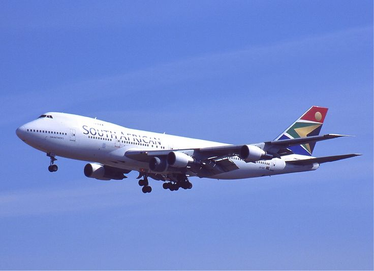 South African Airways ZS-SAP 'Swartberg', Boeing 747-244B, entered service in 1972. JNB BKK JNB.
