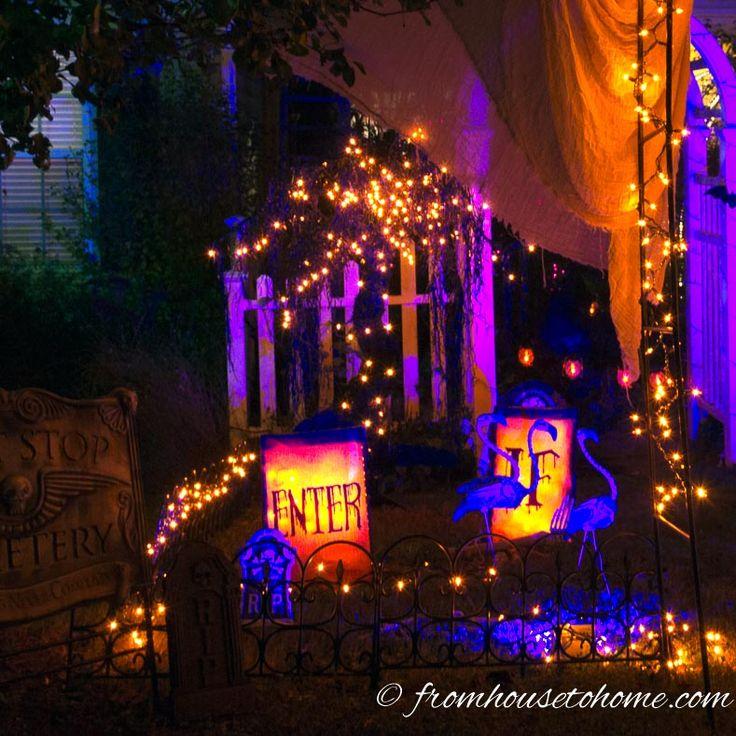 11 ways to create spooky halloween lighting - Halloween Lights