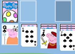JuegosdePeppaPig.es - Juego: Solitario Real Peppa - Jugar Peppa Pig Mamá Pig Decorar, Armar Aventuras Online Gratis