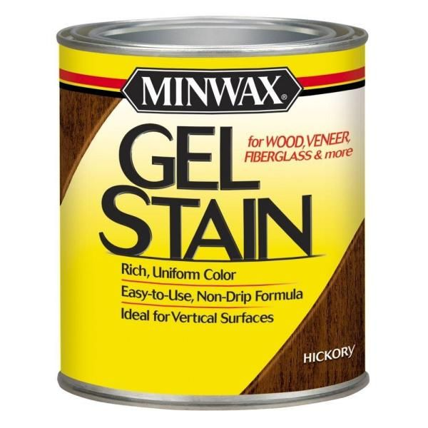 miniwax gel stain hickory