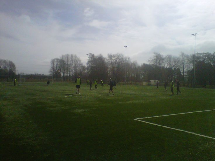 Barrow AFC's training session at Myerscough College (April 2013)