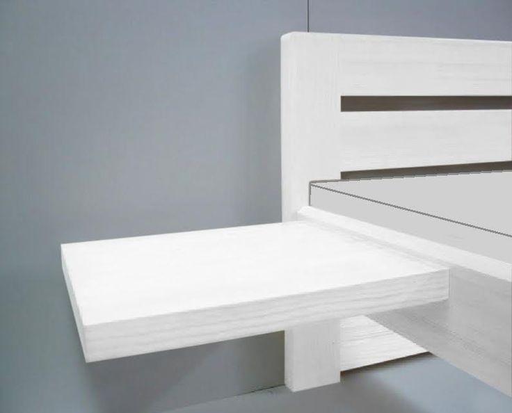 Nočný stolík OĽGA- biela