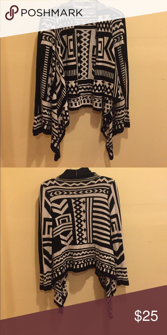 Aztec Cardigan! This beauty is perfect to dress up any outfit! Great for any occasion! Bought at a small boutique in Napa, Ca. Sized a medium but could for sure fit a small! Sweaters Cardigans