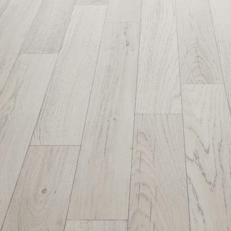 Mardi gras 503 chianti white wood effect vinyl flooring for Cheap wood effect lino