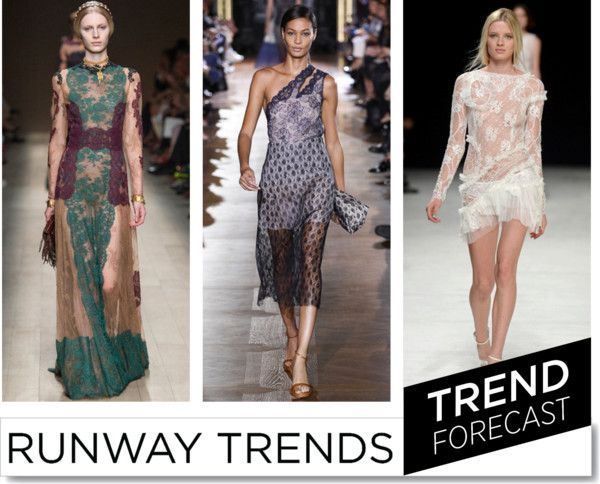 Trend S:S2014_ Lace http://www.sandrascloset.com/the-most-important-ss-2014-runway-trends/