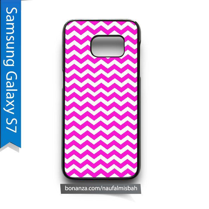 Gray Chevron Pattern Samsung Galaxy S7 Case Cover