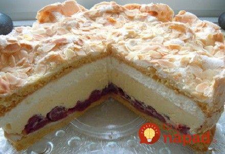 Ak chcete niekomu urobiť radosť vlastnoručne pripraveným dezertom, odporúčame vám túto fantastickú tortu. Na prípravu je úplne jednoduchá a chutí tak dobre, že ju určite pripravíte opäť!
