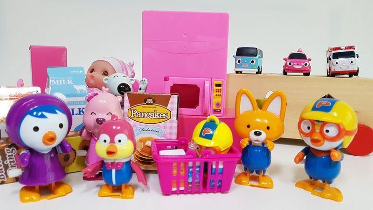 Pororo Microwave Toy Play & 뽀로로 전자렌지 장난감