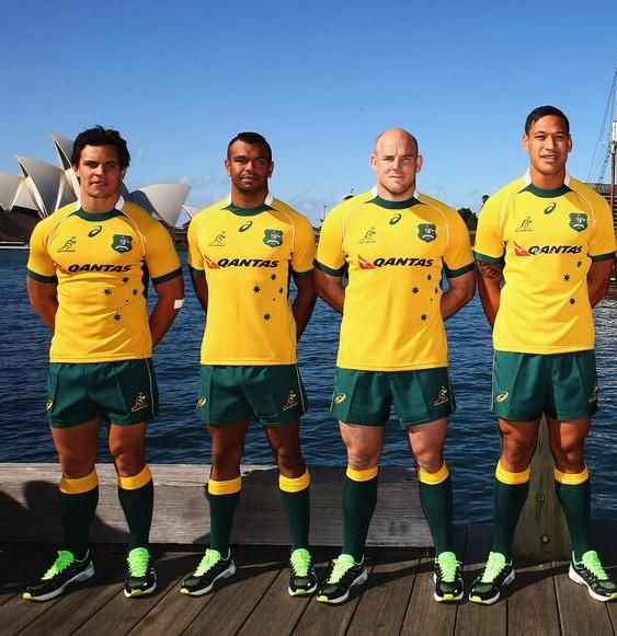 Rugby Men. Australian Wallabies 2014