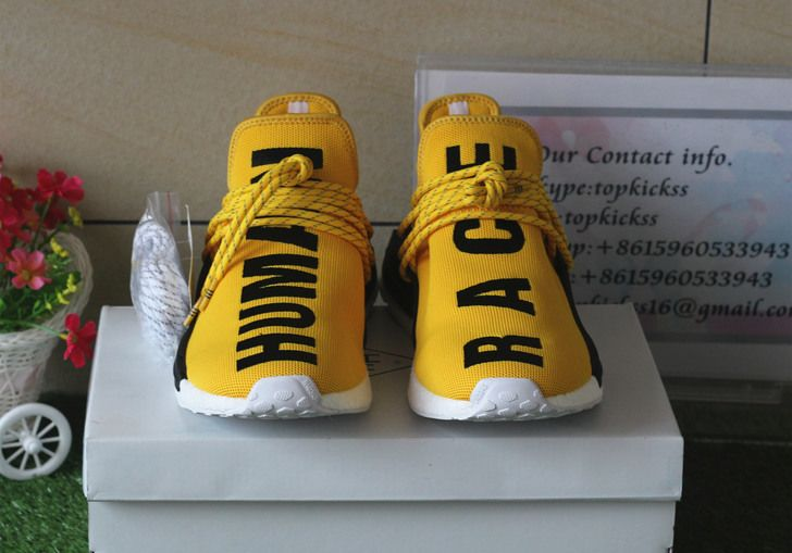 Pharrell × adidas NMD Human Race Red Free Shipping World Wide