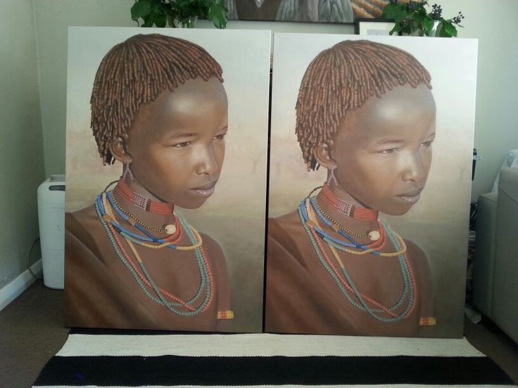 Seeing double! Beautiful Limited Edition prints of my painting Hamer Girl now available :) pm me if you want one! First one is going to Ronald McDonald House Queenstown Charity Auction^^ www.rebekahcodlinart.co.nz