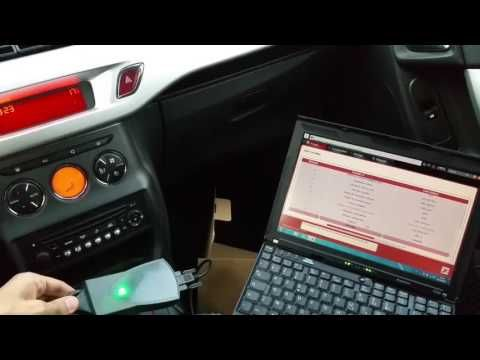 Peugeot Citroen DIAGBOX diagnostic - YouTube