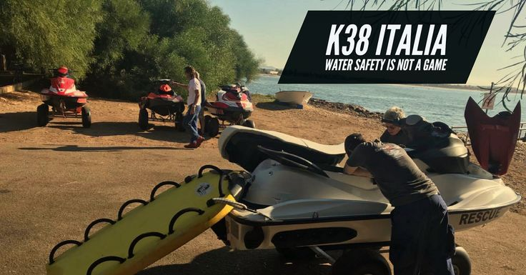 https://flic.kr/p/F1VfVb | K38 Italia | K38Italia.it is a rescue water craft service provider in Italy, it is run by Fabio Annigoni and he operator with BRP Sea Doo aquabikes.