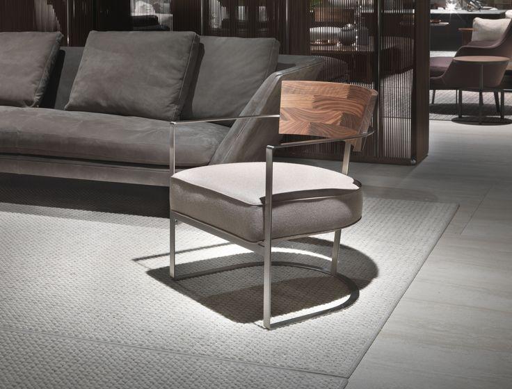 #FLEXFORM MORGAN #armchair #design Antonio Citterio. Find out more on www.flexform.it