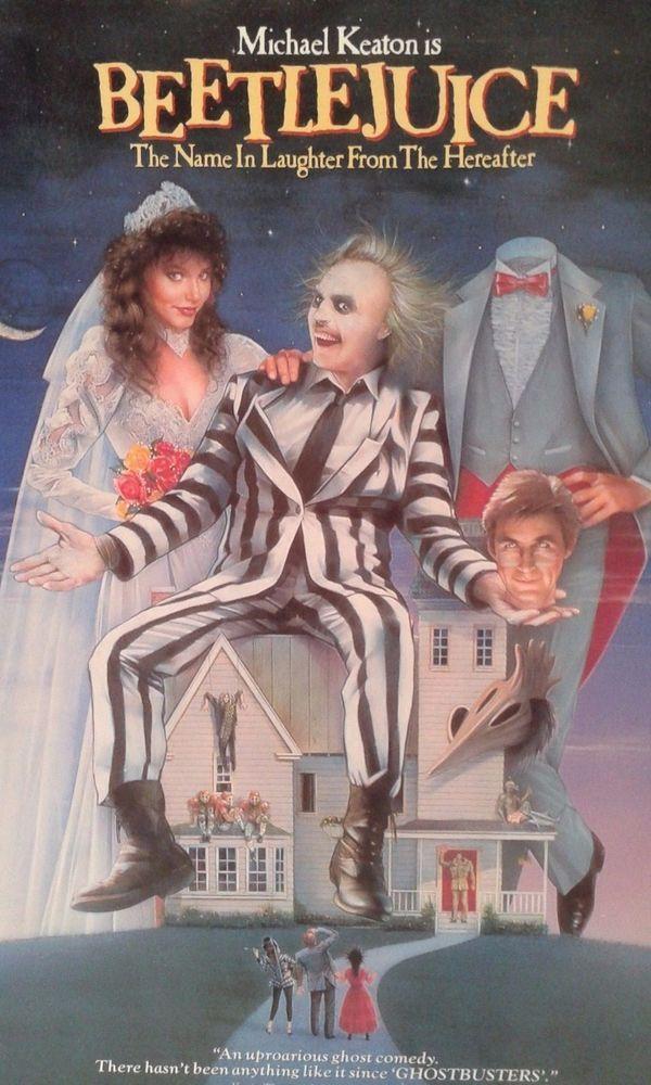 Beetlejuice starring Michael Keaton Alec Baldwin Geena Davis  LD Laserdisc   DVDs & Movies, Laserdiscs   eBay!