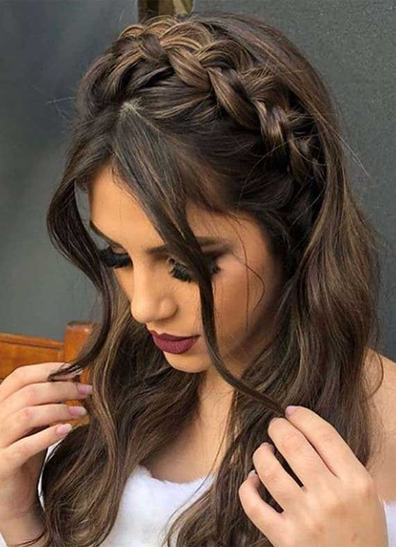 Prom Hairstyles That Will Make All Heads Turn 1 In 2020 Long Hair Styles Thick Hair Styles Hair Styles