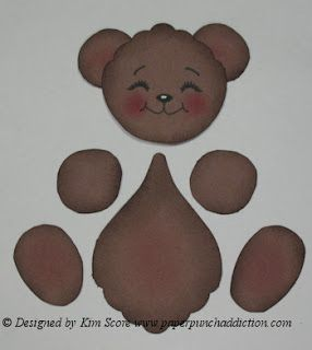 Paper Punch Addiction: Fishing Bear made with ONE punch
