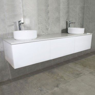 Eden Wall Mount Vanity Cabinet without Top 1800mm
